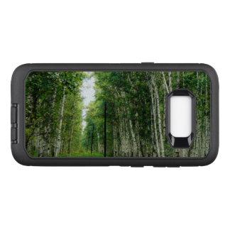 Beautiful Birch Tree Forest Art OtterBox Defender Samsung Galaxy S8+ Case