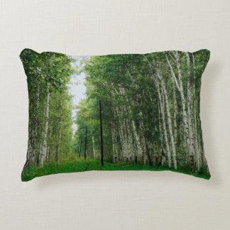 Beautiful Birch Tree Forest Decorative Cushion