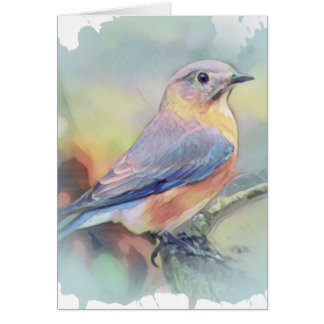 Beautiful bird notecard