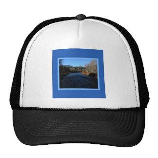Beautiful Bitterroot River Landscape Mesh Hat
