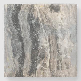 Beautiful Black & Gray Colored Stone Coaster