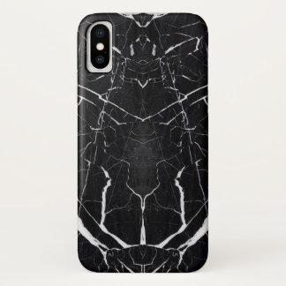 Beautiful black marble iPhone x case