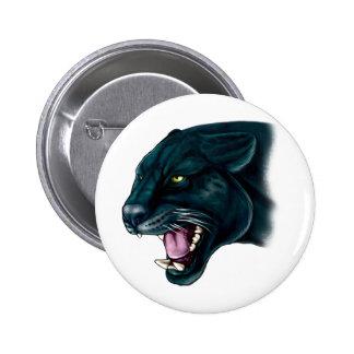 Beautiful Black Panther 6 Cm Round Badge