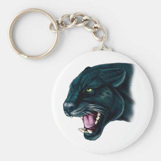 Beautiful Black Panther Key Ring