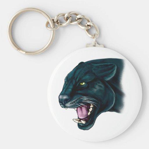 Beautiful Black Panther Key Chains