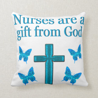 BEAUTIFUL BLESSED NURSE DESIGN THROW CUSHIONS