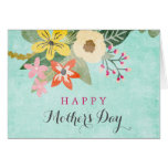 Beautiful Blooms Mother's Day Greeting Card
