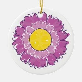 Beautiful Blossom Ornament - Purple