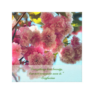 Beautiful Blossoms Canvas Prints