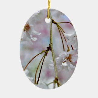 Beautiful Blossoms Ceramic Ornament