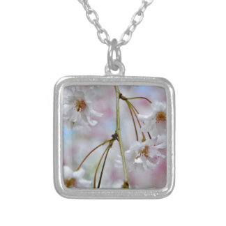 Beautiful Blossoms Silver Plated Necklace