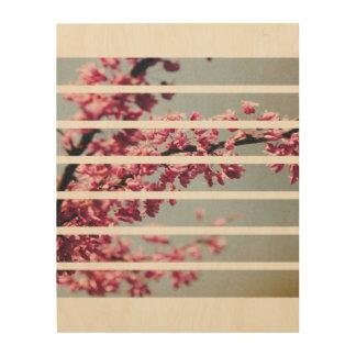 Beautiful Blossoms Wood Wall Art