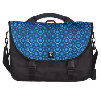 Beautiful Blue and Black Tote Computer Bag