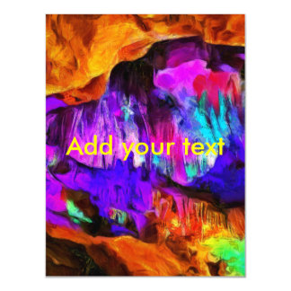 Beautiful blue and pink colors magnetic card