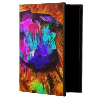 Beautiful blue and pink colors powis iPad air 2 case