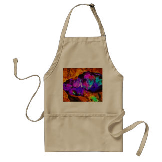 Beautiful blue and pink colors standard apron