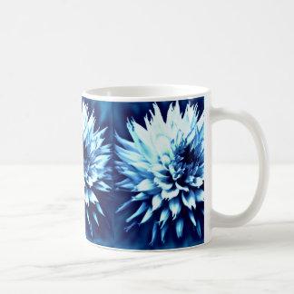 Beautiful blue dahlia cup ,mug