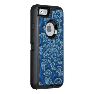 Beautiful Blue Fractal OtterBox iPhone 6/6s Case