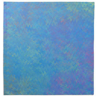 Beautiful Blue Marbled Paper Look Napkin