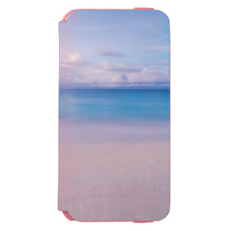 Beautiful Blue Ocean and Beach Paradise Incipio Watson™ iPhone 6 Wallet Case
