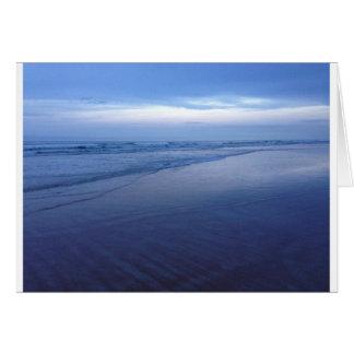 Beautiful Blue Ocean Card