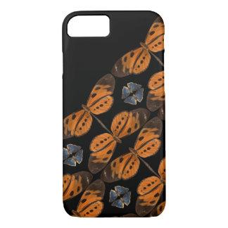 Beautiful Blue & Orange Butterfly Phone Case