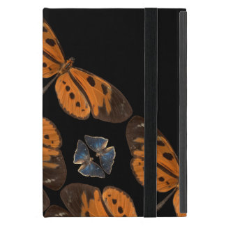 Beautiful Blue & Orange Butterfly Tablet Case
