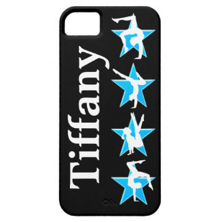 BEAUTIFUL BLUE PERSONALIZED GYMNASTICS IPHONE CASE