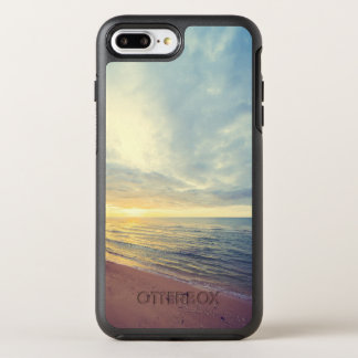 Beautiful Blue Sky Beach Sunset | Phone Case