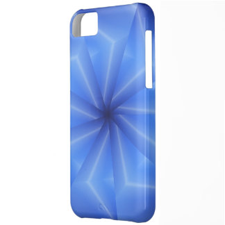 Beautiful Blue Spokes Cover For iPhone 5C