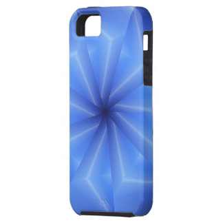 Beautiful Blue Spokes iPhone 5 Cover