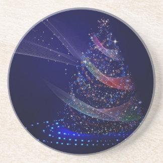 Beautiful Blue Tree Coaster