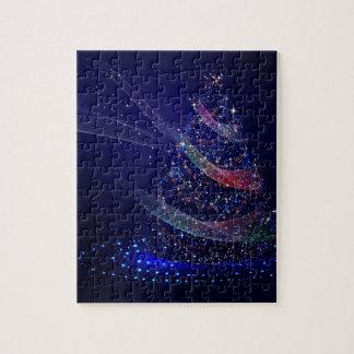 Beautiful Blue Tree Jigsaw Puzzle
