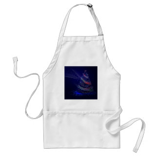 Beautiful Blue Tree Standard Apron