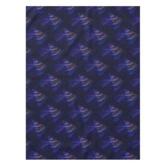 Beautiful Blue Tree Tablecloth