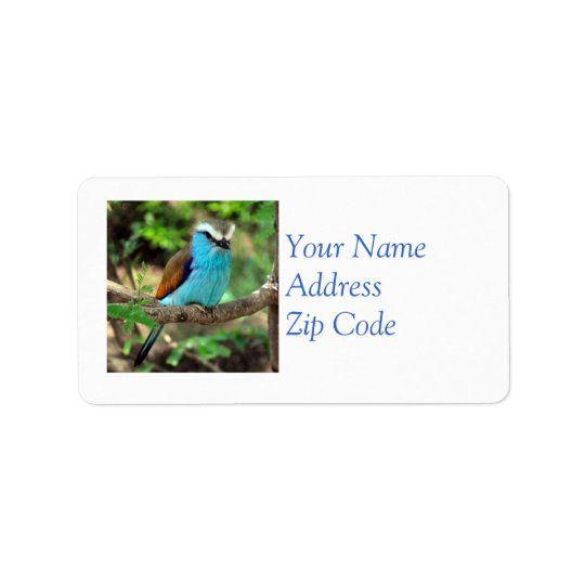 Beautiful Bluebird Mailing Label Address Label