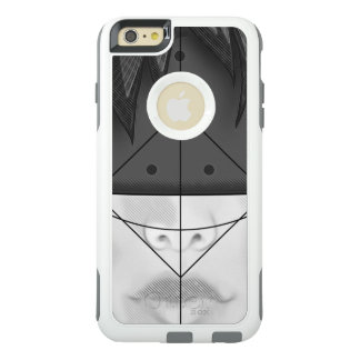 Beautiful BnW Fractal Feathers for Major Motoko OtterBox iPhone 6/6s Plus Case