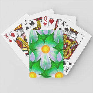 Beautiful Bold Daisies Playing Cards