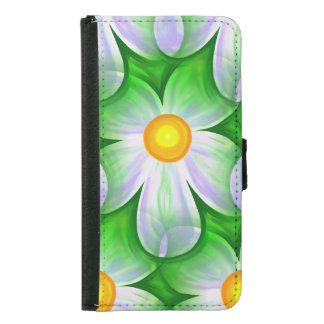 Beautiful Bold Daisies Samsung Galaxy S5 Wallet Case