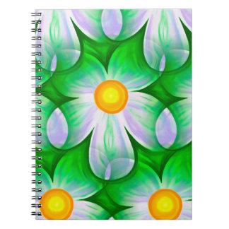 Beautiful Bold Daisies Spiral Notebook