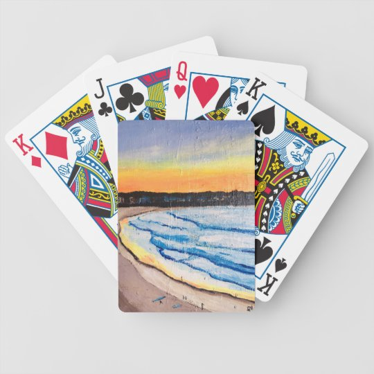 Beautiful Bondi Bicycle Playing Cards