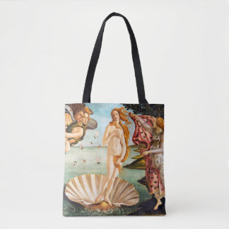 Beautiful Botticelli Venus Restored and Recolored Tote Bag