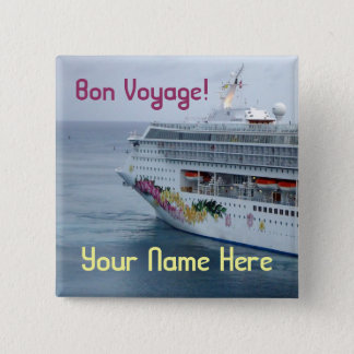 Beautiful Bow Name Tag 15 Cm Square Badge