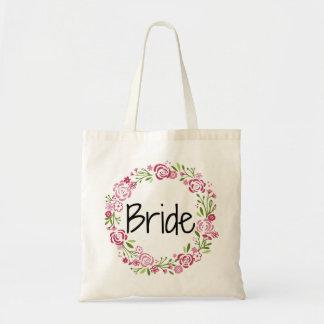 Beautiful Bride Floral Tote
