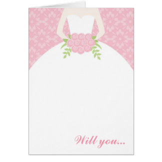 Beautiful Bride - Greeting Card
