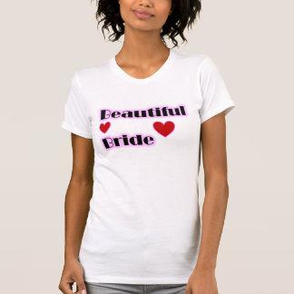 Beautiful Bride Hearts T-Shirt