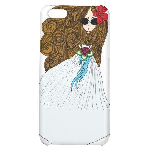 Beautiful Bride iPhone 5C Covers