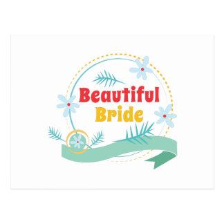 Beautiful Bride Postcard