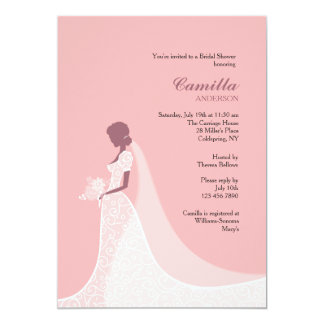 Beautiful Bride Shower Invitation