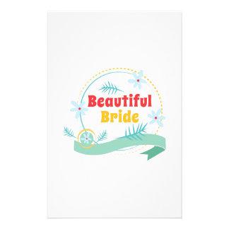 Beautiful Bride Stationery